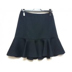 【中古】 ニジュウサンク 23区 スカート サイズ38 M レディース ダークネイビー