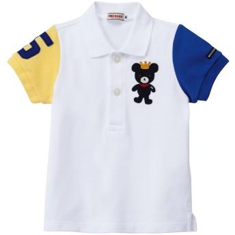 ミキハウス キングくん 半袖ポロシャツ マルチカラー