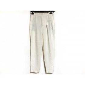 【中古】 ダーマコレクション DAMAcollection パンツ サイズ61-89 レディース 美品 アイボリー
