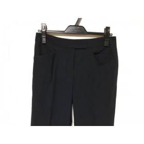 【中古】 セオリー theory パンツ サイズ2 S レディース ダークネイビー