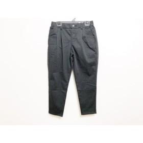 【中古】 サムシング SOMETHING パンツ サイズXS レディース 黒 グレー