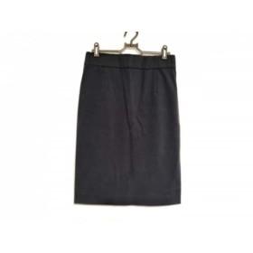 【中古】 ドゥーズィエム DEUXIEME CLASSE スカート サイズ38 M レディース 美品 黒 ウエストゴム