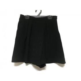 【中古】 ジャスグリッティー JUSGLITTY ショートパンツ サイズ1 S レディース 黒
