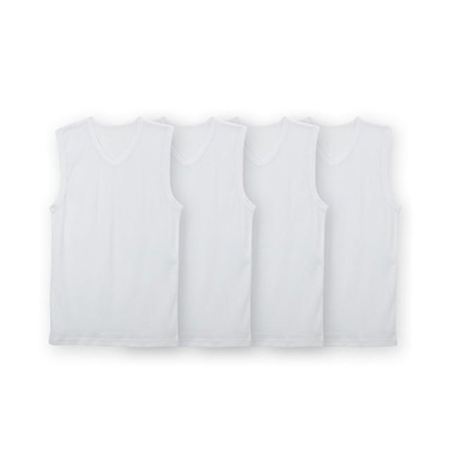 吸汗速乾サーフシャツ4枚組(男の子 子供服。ジュニア服) キッズ下着