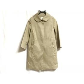 【中古】 ボンメルスリー Bon mercerie コート サイズ36 S レディース ベージュ リボン/春・秋物