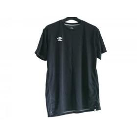 【中古】 アンブロ UMBRO 半袖Tシャツ サイズL レディース 黒