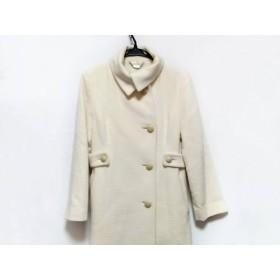 【中古】 ロペ ROPE コート サイズ9 M レディース 白 冬物