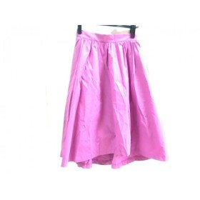 【中古】 ヴィス VIS スカート サイズF レディース ピンク
