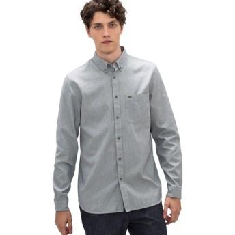 ヒッコリーストライプシャツ(長袖)