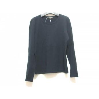 【中古】 マッキントッシュ MACKINTOSH 長袖セーター サイズ38 M レディース ネイビー