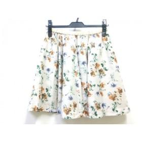 【中古】 フリーズフレーズ FREE'SPHRASE スカート サイズM M レディース ベージュ マルチ