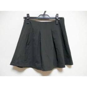 【中古】 セオリー theory ミニスカート サイズXO XL レディース 美品 ダークグレー