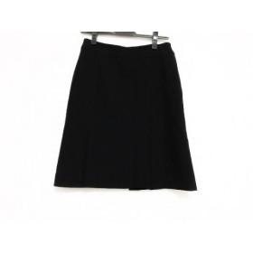 【中古】 バレンチノ VALENTINO スカート サイズ6 M レディース 黒