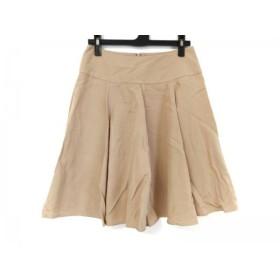 【中古】 トゥモローランド TOMORROWLAND スカート サイズ36 S レディース ベージュ collection
