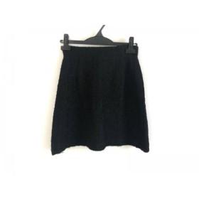 【中古】 シビラ Sybilla スカート サイズ63-90 レディース 黒