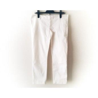 【中古】 ディースクエアード DSQUARED2 パンツ サイズ42 M レディース 美品 白 綿