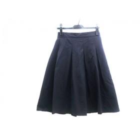 【中古】 プラステ PLS+T(PLST) スカート サイズ2 M レディース ネイビー