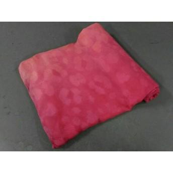 【中古】 デシグアル Desigual ストール(ショール) U ピンク オレンジ マルチ ポリエステル