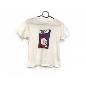 【中古】 ヒステリック HYSTERIC 半袖Tシャツ サイズ140 レディース 白 パープル マルチ