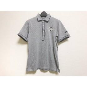 【中古】 マスターバニーエディション MASTER BUNNY EDITION 半袖ポロシャツ サイズ4 XL メンズ グレー