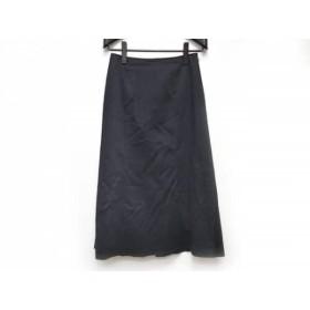【中古】 ジユウク 自由区/jiyuku スカート サイズ40 M レディース ネイビー