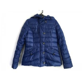 【中古】 オットー OTTO ダウンコート サイズM メンズ ブルー 冬物/Collection