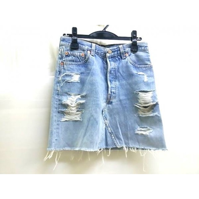 【中古】 リーバイス LEVI'S スカート レディース ブルー