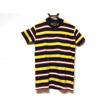 【中古】 ジムフレックス 半袖Tシャツ サイズ14 XL レディース ダークネイビー イエロー マルチ
