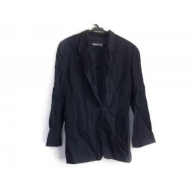 【中古】 エンポリオアルマーニ EMPORIOARMANI ジャケット サイズ40 M レディース ネイビー
