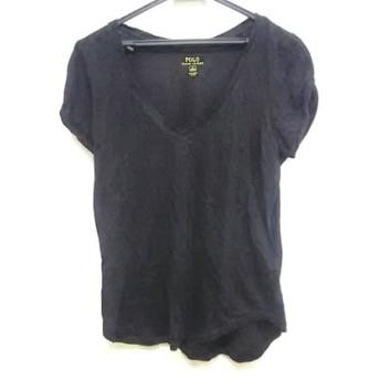 【中古】 ポロラルフローレン POLObyRalphLauren 半袖Tシャツ サイズM165/92A メンズ 黒