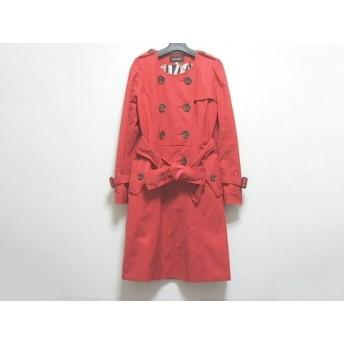【中古】 ジャスグリッティー JUSGLITTY コート サイズ1 S レディース レッド 冬物