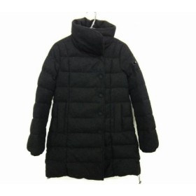 【中古】 タトラス TATRAS ダウンコート サイズ2 M レディース LTA-4228 黒 冬物