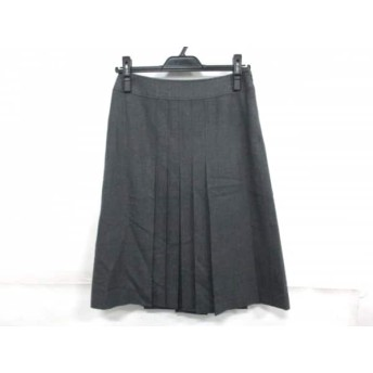【中古】 バーバリーロンドン Burberry LONDON スカート サイズ36 M レディース グレー