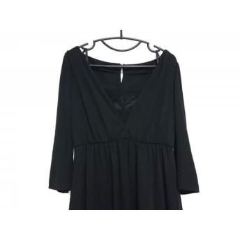 【中古】ミスアシダ miss ashida ドレス サイズ11 M レディース 美品 黒 レース 値下げ 20190324