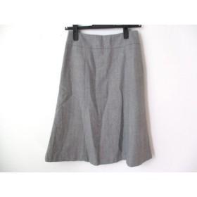【中古】 ユニバーサルランゲージ UNIVERSAL LANGUAGE スカート サイズ36 S レディース グレー