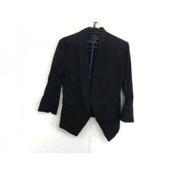 【中古】 ヴァンドゥ オクトーブル 22OCTOBRE ジャケット サイズ36 S レディース 黒