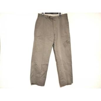 【中古】 インコテックス INCOTEX パンツ サイズ50 メンズ ベージュ