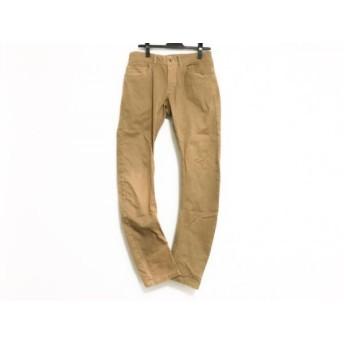 【中古】 5351プールオム 5351 PourLesHomme パンツ サイズ2 M メンズ ブラウン