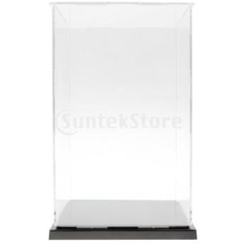透明ディスプレイ ショーケース フィギュア モデル 収納ケース ボックス 保護ボックス 全4サイズ - 13×13×21 cm