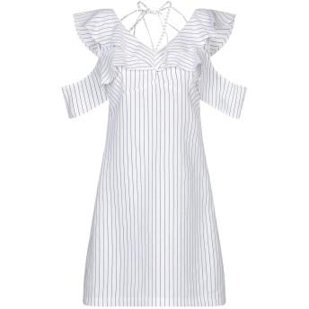 《セール開催中》TWENTY EASY by KAOS レディース ミニワンピース&ドレス ホワイト 40 レーヨン 87% / ポリエステル 13%