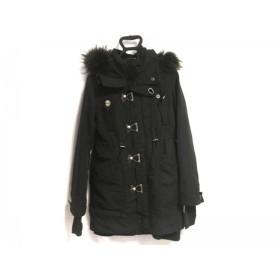 【中古】 スライ SLY コート サイズ2 M レディース 黒 冬物