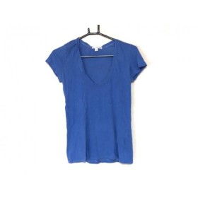 【中古】 ジェームスパース JAMES PERSE 半袖Tシャツ サイズ0 XS レディース ブルー