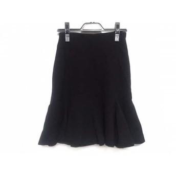 【中古】 ユキトリイ YUKITORII スカート サイズ9 M レディース 黒