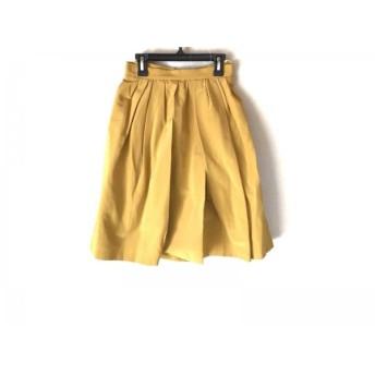 【中古】 アプワイザーリッシェ Apuweiser-riche スカート サイズ0 XS レディース イエロー