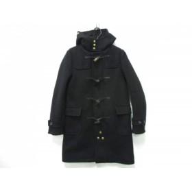 【中古】 サイ SCYE ダッフルコート サイズ38 M レディース 黒 冬物/BASICS