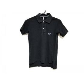 【中古】 サイ SCYE 半袖ポロシャツ サイズ38 M レディース 黒