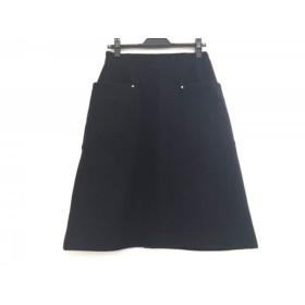 【中古】 ザ ヴァージニア The Virgnia スカート サイズ38 M レディース ネイビー