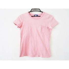【中古】 バーバリーブルーレーベル Burberry Blue Label 半袖Tシャツ サイズ38 M レディース ピンク
