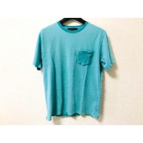 【中古】 センスオブプレイス SENSE OF PLACE 半袖Tシャツ サイズM メンズ ライトグリーン