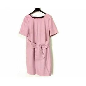 【中古】 ジャスグリッティー JUSGLITTY ワンピース サイズ2 M レディース 美品 ピンク